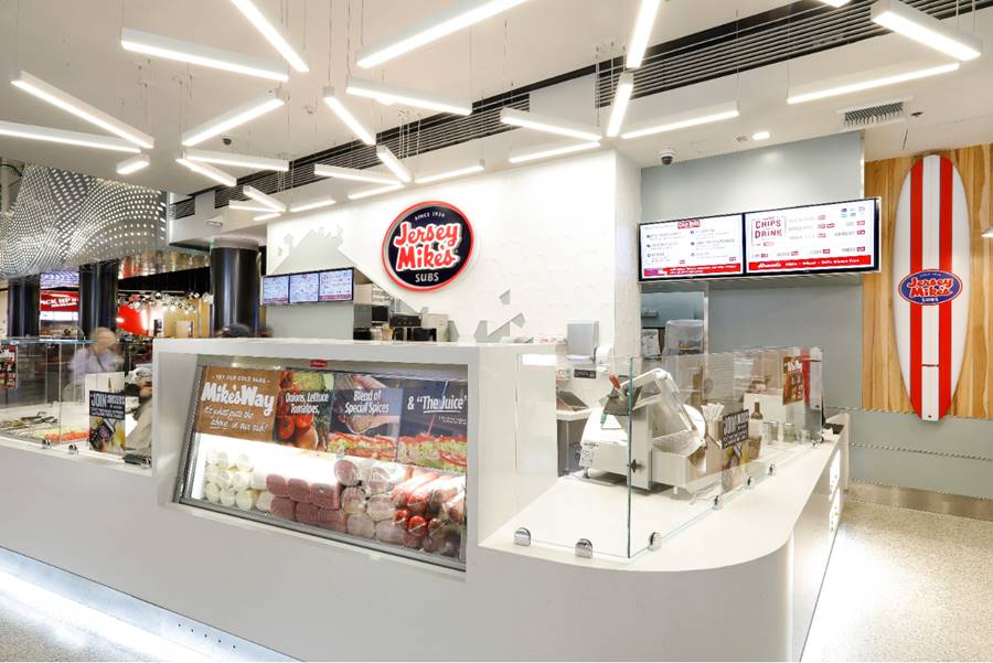 Crews Opens Jersey Mike's Sub Location at LAX