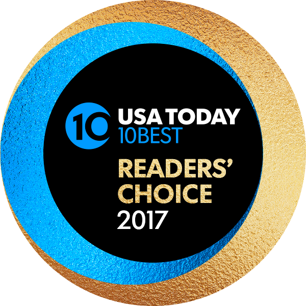 Crews Earns Top 5 Honors for the 'USA Today's Reader's Best' Awards in Food & Beverage & Retail Locations at LAX, HJAIA, IAD & DCA