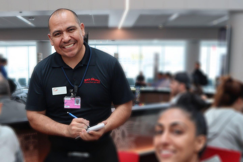 Gonzalo De Lara, Server at Rock & Brews